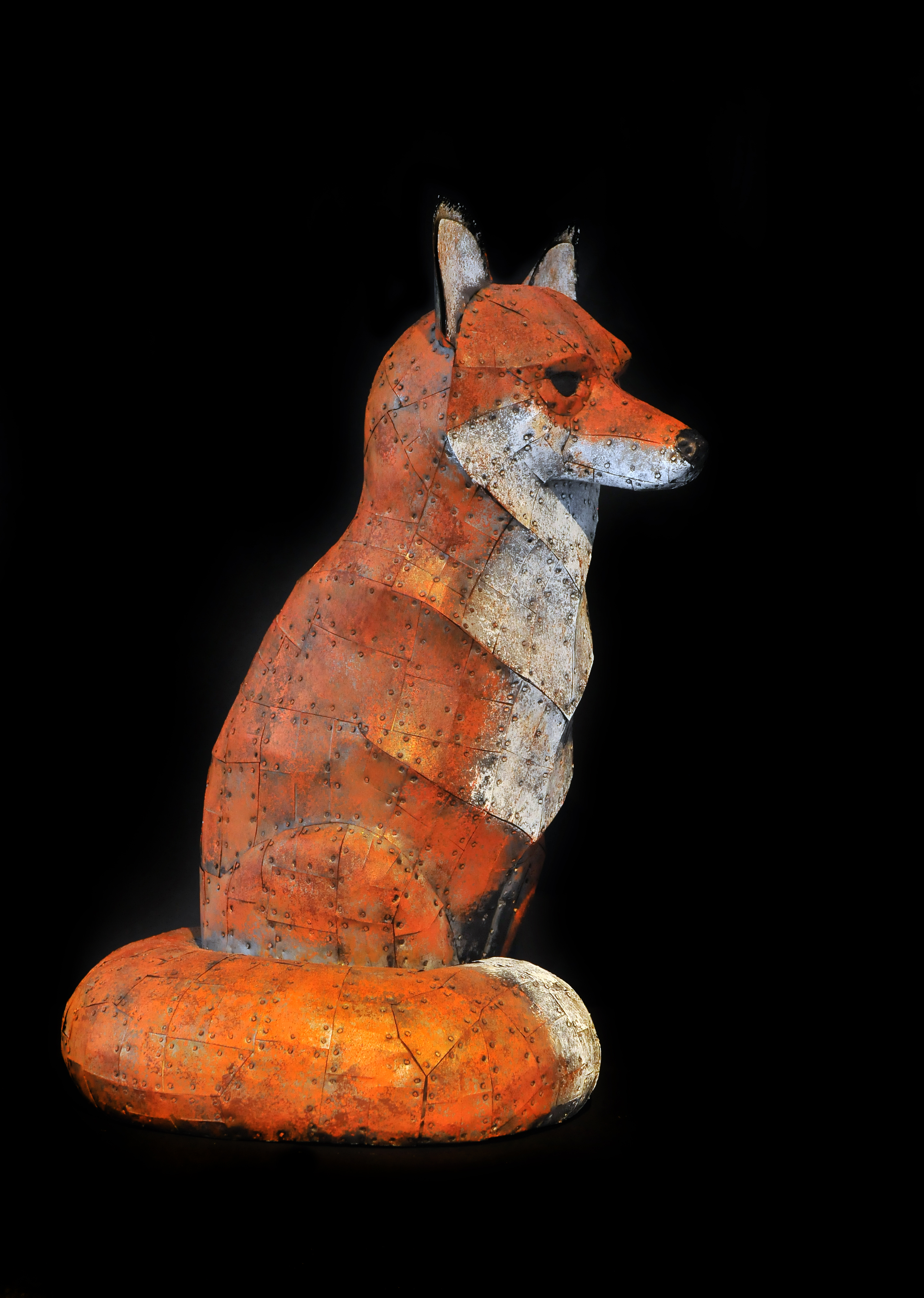 Red Fox, life size